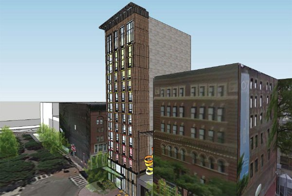 Boston Construction News: Construction of Cambria Hotel on Canal Street could begin next year