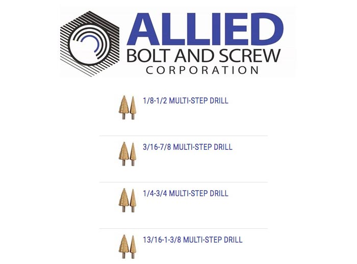 Product Spotlight: MULTI-STEP DRILLS