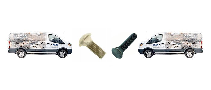 GRADE 8 CARRIAGE BOLTS AND PLOW BOLTS From Allied Bolt & Screw