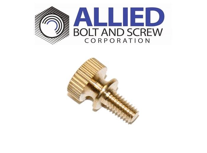 Product Spotlight Knurled Brass Thumb Screw