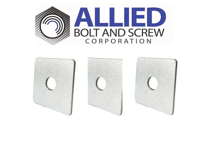 Product Spotlight- HOT GALVANIZED SQUARE WASHERS by Allied Bolt & Screw