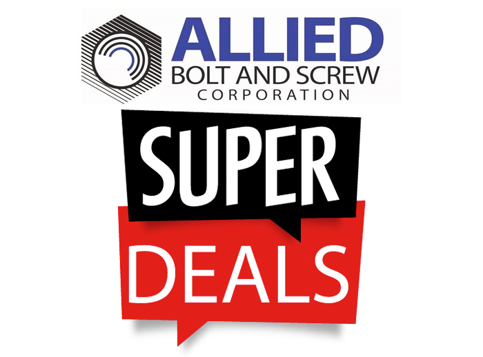 Super Deals from Allied Bolt