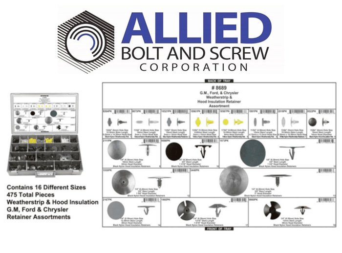 ' REPAIR ASSORTMENTS from Allied Bolt & Screw