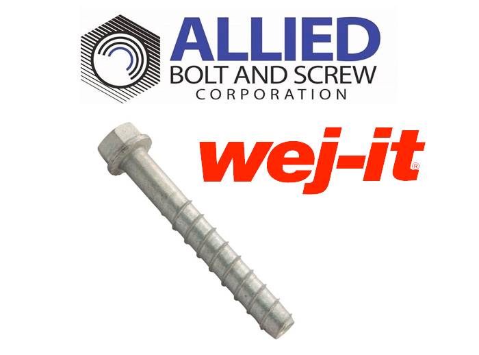 Product Spotlight: WEJ-IT® POWER-SKRU BOLT™