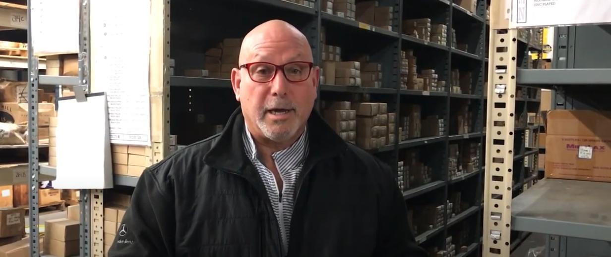Video: Allied Bolt's President Neil Goldberg Discusses Their Screw Inventory