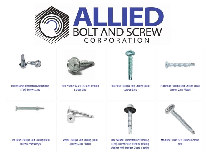 SELF-DRILLING SCREWS from Allied Bolt